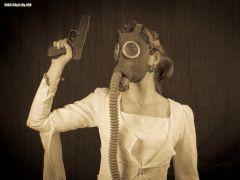 Gas mask apocalyptic