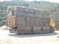 preslenmiş çöpler