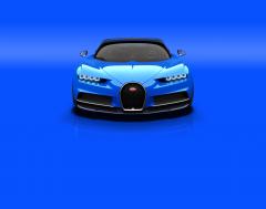Bugatti Chiron, 2016 Fotoğraf Ön Görünüş