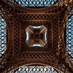 Eyfel kulesine farklı bir perspektiften bakmak
