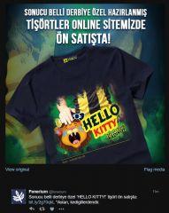 Fenerbahçe'den Galatasaray Derbisi Sonrası Tişört - Aslan Kedigillerdendir