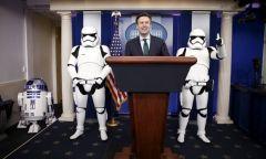 Sonunda Beyaz Saraydalar - Yıldız Savaşları Ekibi
