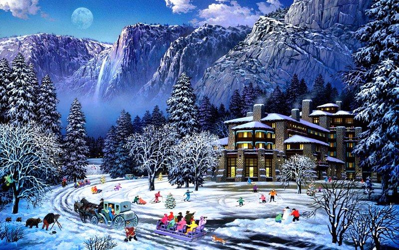 Yeni Yıl Kar Yağıyor