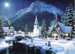 yılbaşı gecesi manzarası