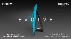 Sony Bravia OLED - Dünyanın İlk Akustik Yüzey Ekranı