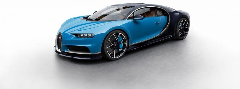 Bugatti'den Chiron 1500 beygirlik yeni canavar