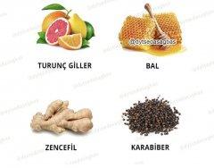 Kışın hastalıklardan koruyacak besinler