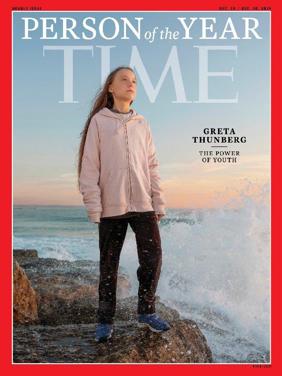 2019 Time Dergisi Yılın İnsanı - Greta Thunberg